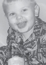 TURNING TWO — Hunter Blayne Amburgey will celebrate his second birthday Feb. 28 with a party at Pizza Hut. He is the son of TeShauna and Shane Amburgey of Cumberland. His grandparents are Shanda and Byron Carter of Jenkins, and Ray Amburgey of Knott County and the late Alma Amburgey. He is the great-grandson of Reba Greene of Jenkins.