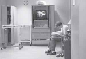 In this photo provided to the AP by the Owen family, Rob Owen held his stillborn daughter Clare Elizabeth Owen, March 7, 2008, at Holy Cross Hospital in Silver Spring, Md. This photo was taken by the mother, Erin Fogarty Owen, from her hospital bed.
