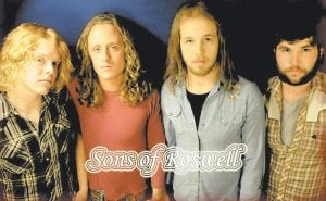 Sons of Roswell, which formed in Muscle Shoals, Alabama in 2005, will appear in Summit City.
