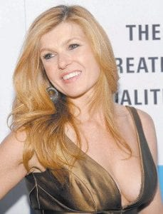 Actress Connie Britton was photographed in January at the Creative Coalition Inaugural Ball at the Harman Center for the Arts in Washington. (AP Photo)