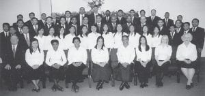 TO SING — The Marietta Bible College Choir of Marietta, Ohio, will present a program of sacred choral music at the Letcher Independent Baptist Church at Jeremiah on Thursday, April 2, at 7 p.m. The choir includes students from the United States, the Philippines, Syria, Papua New Guinea, and Togo, West Africa. Myron Guiler will be the speaker. Bill Jones is pastor of the church. The public is invited to attend.