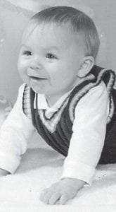 FIRST BIRTHDAY — Triston Scott Fuller turned one year old on April 4. He is the son of Helen Dennison and Joshua Fuller of Craft's Colly, and has a brother, Chadrick Ison, 10.