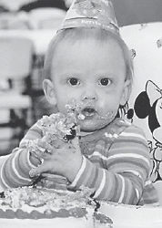 ONE YEAR OLD — Emma Nicole Maggard celebrated her first birthday recently. She is the daughter of Rodney and Kelly Maggard of London. her grandparents are Allen and Darlene Maggard of Cowan, and Alex Gibson of Whitesburg and the late Sharon Gibson. She has two older sisters, Taylor and Macy.
