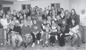 FAMILY PORTRAIT — This photograph of the Howard family was taken at their Christmas party at the Sandlick Fire Department in 2008. Whitesburg correspondent Oma Howard says,