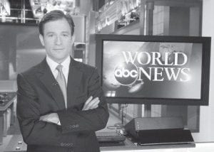 ABC News anchor Dan Harris is shown in this photo released by ABC. (AP)