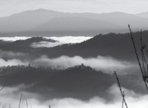 The Great Smoky Mountains National Park is seen from the Foothills Parkway near Walland, Tenn. The Smokies' distinctive natural mist rises in the foreground. The park is celebrating its 75th anniversary June 15. (AP Photo/National Park Service)
