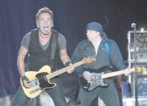 Bruce Springsteen and E-Street Band guitarist