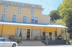 The Seco Company Store, above, suspended its restaurant and bed-andbreakfast operations after unruly neighbors harassed guests and kept delivery trucks from getting to the facility which is located in the old Seco coal camp, said owner Jack Looney.