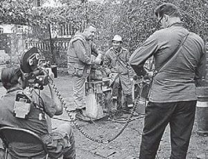In 1968, Cronkite was a reporter in Vietnam, sending home accounts from people such as Professor Mai of the University of Hue (middle) and the commanding officer of the 1st Battalion, 1st Marines, during the Battle of Hue (above).