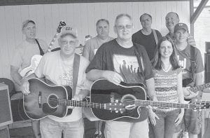 PERFORMING — Chuck Johnson and Friends gave a free concert in Jenkins City Park recently