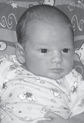 CAMDEN JOEL SLONE was born August 13. His parents are Robby and Casey Slone of Pippa Passes. He is the grandson of Tammy Adams of Isom, Joe and Tammy Fields of Smoot Creek, and Leo and Laurita Slone of Pippa Passes. He has an older brother, Caden.