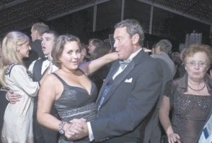 In this photo taken Dec. 11, 2007, Steve Nunn and Amanda Ross are seen dancing at the Kentucky Governor's Ball in Frankfort (AP Photo/The Courier-Journal, David R. Lutman)