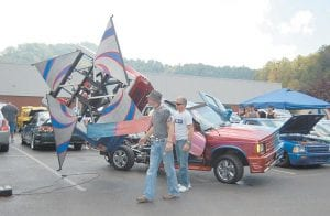 A popular attraction at the Heritage 2K9 car and truck show was
