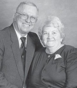 GOLDEN ANNIVERSARY — Lawrence and Barbara (Whitaker) Back will celebrate 50 years of marriage on Sept. 27.
