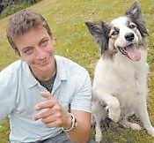 Zak George and friend.
