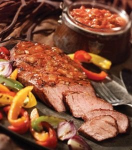 Grilled Picante Beef Steak