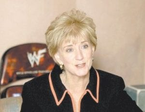 World Wrestling Entertainment Inc. announced recently that Linda McMahon has resigned as the company's chief executive to seek the Republican nomination for the U.S. Senate seat now held by Connecticut Democrat Christopher Dodd. (AP Photo)