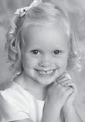 FOUR YEARS OLD — Kenley Danielle Green, daughter of Kent and Dana Mullins Green of Johnson City, Tenn., and granddaughter of Kenneth and Lynn Green, also of Johnson City, and Danny and Donna Warf Mullins of Cromona, was four years old on Oct. 6. She celebrated her birthday with family and friends at Burger King of Boones Creek. She attends preschool at Tri-Cities Baptist Church and has a sister, Macie Ellyn.