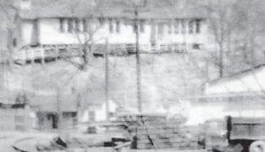 GRADE SCHOOL — The Marlowe Grade School was built in 1928. The building burned in 1963 or 1964.