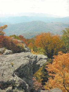 This photograph on Mount Rogers, Virginia's highest point at 5,729 feet, was taken by Daniel White and appears on the website blueridgeoutdoors.com. (Photo by Daniel White)