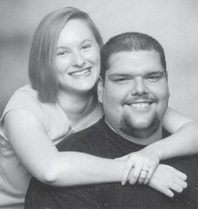 ENGAGED — Garry and Joyce Sue Gantner of Eolia, announce the engagement of their daughter, Susanna Leigh Gantner, to Ryan Edward Pilkenton, son of Doug and Carol Pilkenton of Pound, Va. A June wedding is planned. She is a 2006 graduate of Pound High School and is a licensed practical nurse/nanny. He is a 2004 graduate of Pound High School and works for Paramount Coal.