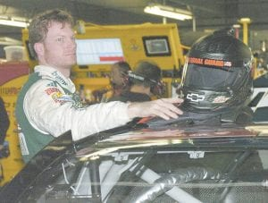 Dale Earnhardt Jr. is 24th in the NASCAR standings after finishing 29th at Martinsville. (AP)