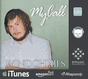 This graphic was designed to promote the release of Mike Hall's first single,