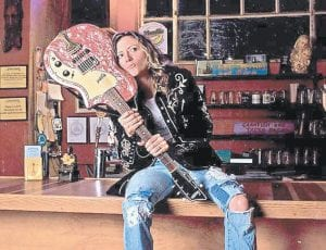 Michelle Malone (above) will perform at Summit City in downtown Whitesburg on Friday, Nov. 13, the night after Foghorn Trio of Portland, Oregon below, performs in the same venue.