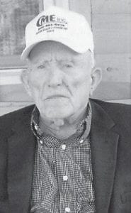 BIRTHDAY — Clayton Shepherd of Jeremiah, will celebrate his 92nd birthday on Nov. 19. He is a U.S. Navy veteran of World War II, and enjoys gardening and listening to WMMT. He is a member of the Mt. Olivet Old Regular Baptist Church at Blackey. He has a daughter, two grandchildren, and three great-grandchildren.
