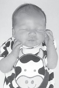 FOUR MONTHS OLD — Jaxton Blayde Tolliver was born July 28. He is the son of Willis Jr. and Renay Tolliver of Deane, and a brother of Ethan Skyler Willis Tolliver, 7. His grandparents are Willis and Moraine Tolliver and James and Darlene Mobley, all of Deane.