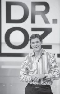 Dr. Mehmet Oz is pictured during the production of The Dr. Oz Show in New York. (AP Photo/Harpo Inc.)