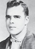 VALEDICTORIAN — Bert Francis was the Whitesburg High School valedictorian in 1955. His activities included Band 1, 2, 3, 4; Chorus 1, 2,'3,'4; Industrial Arts 1; Band Club 1; Wildlife Club 2, 3; Science 4; Beta Club 4.