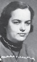 SALUTATORIAN — Doris Banks was the Whitesburg High School salutatorian in 1955. Her activities included FHA 1, 2, 3, 4; Sec't 2; V. Pres. 4; Glee Club 4.