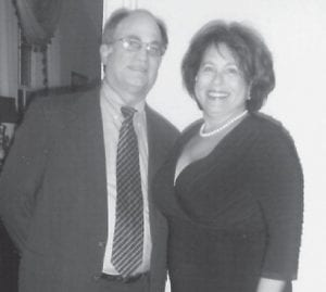 """HONORED — Dr. John and Gene Ann Sandbach recently received the Jordan Award, given by the Austin Community Foundation to voluteers who """"through dedication, commitment and contributions, made a significant impact . . . to the quality of life in Austin."""" The Sandbachs were instrumental in the formation of and providing ongoing support for Hospice Austin. Dr. Sandbach is an oncologist and hematologist. His wife, Gene Ann, is the dauaghter of the late Mae and Jack Cox of Letcher County."""