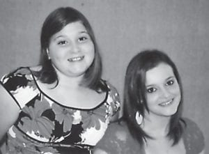 SISTERS — Alexis Jade Faye Cornett (left) celebrated her 13th birthday on January 9. She is pictured with her sister, Jasmine Nicole Cornett, who turned 16 on November 25. They are the daughters of the late Rhonda Cornett of Whitesburg, and Robert and Ashley Cornett of Whitesburg. Their grandparents are the late Lydia Duty of Millstone, the late Cleo Jones of Whitesburg, and Charles and Melody Ison of Whitesburg.