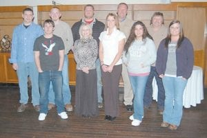 Eleven Letcher County residents recently were graduated from the first Kentucky State Police Post 13 citizens police academy. Pictured during a ceremony at Seco recently are (front row, from left) Robert Brown, Renee Campbell, Miranda Burton, Audrianna Puente, Keshia Combs, (back row, from left) Jared Hipps, Nick Brock, Cory Harris, Mike Harris and Jack Looney. Not pictured is Adam Collier. (Photo by Sally Barto)