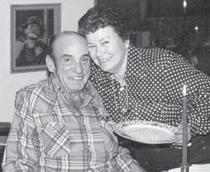 "STANSBERRYS — Irene Stansberry died in 1992, and her husband Bob ""Bologna Bob"" Stansberry died in1997. ""This picture brought back a lot of memories,"" says Whitesburg correspondent Oma Hatton. ""Bob was always smiling. They were the parents of Bobby, Tommy and Jerry Stansberry."""