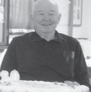 80th BIRTHDAY — Dock A. Adams of Jeremiah turned 80 on January 17. He celebrated his birthday with his family and friends at Blair Branch Church on January 23 with more than 60 people in attendance. He has two daughters, Brenda Combs and Judy Adams, both of Jeremiah.