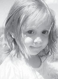 THREE YEARS OLD — Cassidy Reece Blair celebrated her third birthday on Jan. 18 with a Care Bear party. In attendance were her dad and mom, Brandon and Tracy Blair; her great-granny, Cynthia Whitehead; her pop-pop and mim-mim, Mitchell and Teresa Blair, her pappy, John Dixon; her uncle and auntie, Gid and Kaye Back; her nana, Anita Whitehead-Hart, and her aunt, Becky Dixon.