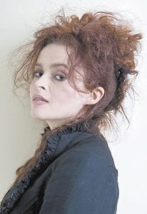 "Actress Helena Bonham Carter,who stars in ""Alice in Wonderland,"" posed recently for a portrait at Renaissance Hollywood Hotel in Los Angeles. (AP Photo)"