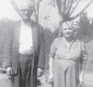 """CAUDILLS — Curt and Mary Suscian Hyden Caudill are pictured at the home in Whitesburg in 1962. Whitesburg correspondent Oma Hatton says, Curt Caudill """"was the minister who performed the marriages of some of my brothers and sisters."""""""