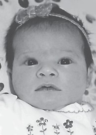 JANUARY BABY — Maggie Elisabeth Little was born January 22 to Phillip and Beth Little. Her grandparents are Francis and Jan Sexton and Charlie and Glennis Little. She is the great-granddaughter of Earl and Betty Terry.