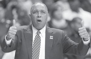 With his father dying before the season, then problems with his team, Tubby Smith says getting Minnesota to the NCAA tournament ranks in achievement with his national title at Kentucky. (AP Photo)