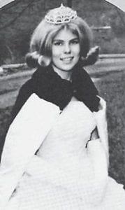 1965 HOMECOMING QUEEN JAN YINGER