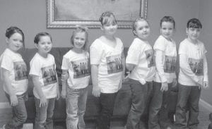PRINCESSES FOR A DAY — Members of Girl Scout Brownie Troop 1314 enjoyed a day at Heavenly Touch and Hair Benders Day Spa, where they had their hair, makeup and nails done, and also had mini massages. Picture are (left to right) Cammy Elswick, Hannah Bates, Lana Combs, Madison Pennepacker, MyKaya Rose, Amy Stamper, and Amanda Stamper.