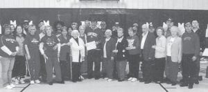 MARCH MADNESS — Seniors from the Ermine Center participated in March Madness at the Kingscreek Center. Among those attending were Judge/Executive Jim Ward, site manager Debbie Slone, Ed and Betty Pike, Joe and Doris Bentley, Kathy Palumbo, John Duty, Betty Newman, Vina Lucas, Lizzie M. Wright, Mr. and Mrs. Kuracka, Judy Vermillion, Marie Pennington, Lydia Hall, Ruby Caudill, Sue and Andy Sexton, S.T. Wright, Lennon and Yvonne Hammock.