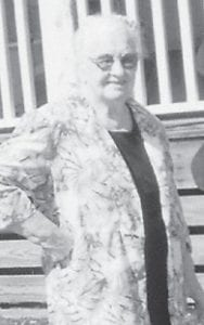 BIRTHDAY — Former Haymond resident Easter Potter Cantrell marked her 89th birthday April 8. The celebration, which lasted two days, was attended by her seven children, the Rev. Roy Cantrell of Chattanooga, Tenn.; two daughters from Vermilion, Ohio; Kate Fortner, Novella Brewer and daughter Zetta Stein of Indianapolis, Ind.; and Dora, Mike and Arldin of Cleveland, Tenn. Also present were grandchildren, and greatgrandchildren. Mrs. Cantrell received a surprise call from a great-grandson that a greatgreat grandson was born on her birthday in Las Vegas.