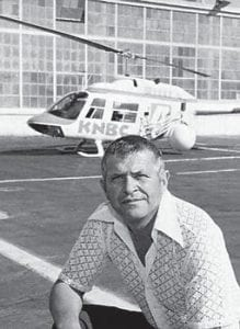 Powers died in 1977 after the helicopter he was piloting for a Los Angeles TV station ran out of fuel and crashed.