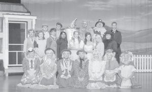 """Under the direction of April Frazier and Jennifer Wampler, the Letcher County Central High School drama class will perform """"The Wizard of Oz"""" at 7 p.m. in the LCCHS auditorium on May 28 and May 29. Jessica Auvil is the musical director. Cast members are (front row, left to right) Kristen Hall, Mychaela Starr, Victoria Adams, Hailey Kuracka, Bridgett Howard, Tabitha Craft, Savannah Fields, (second row) Mallory Adams, Jimmy Bailey, Meagen Arrowood, Lindsey George, Cortney Roberts, Tiff any Bailey, Annessa Gibson, (third row) Ben Whitaker, Caleb Duty, James Gose, Sean Potter, Brandon Jent, Mckenzie Smith and Michael Watts."""