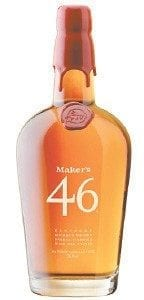 A bottle of Maker's 46 Kentucky Bourbon Whiskey is displayed in this photo.(AP Photo/Maker's Mark Distillery)
